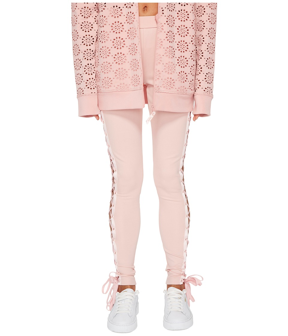 PUMA Fenty Boxing and Bomber Lacing Tights (Silver Pink) Women