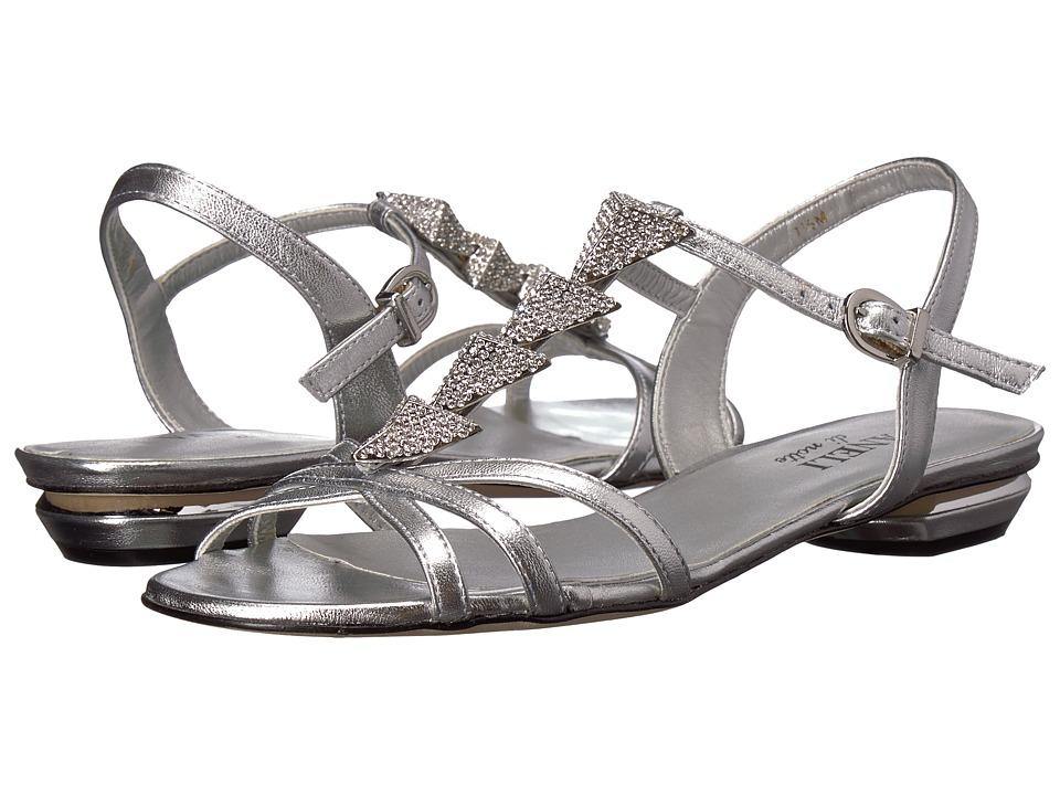 Vaneli Begonia (Silver Metallic Nappa) Women
