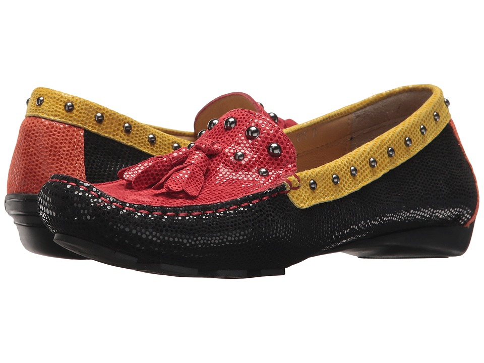 Vaneli - Relax (Black/Red/Yellow/Orange E-Print) Women's Shoes