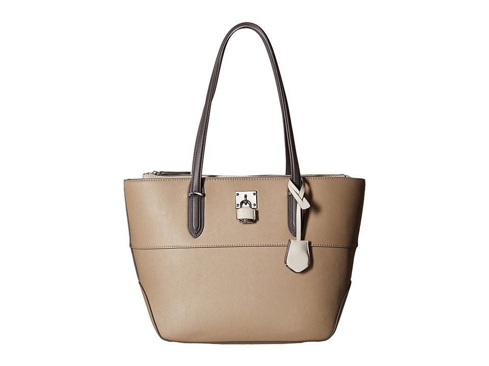 Nine West - Reana (Mushroom/Milk/Steel) Handbags