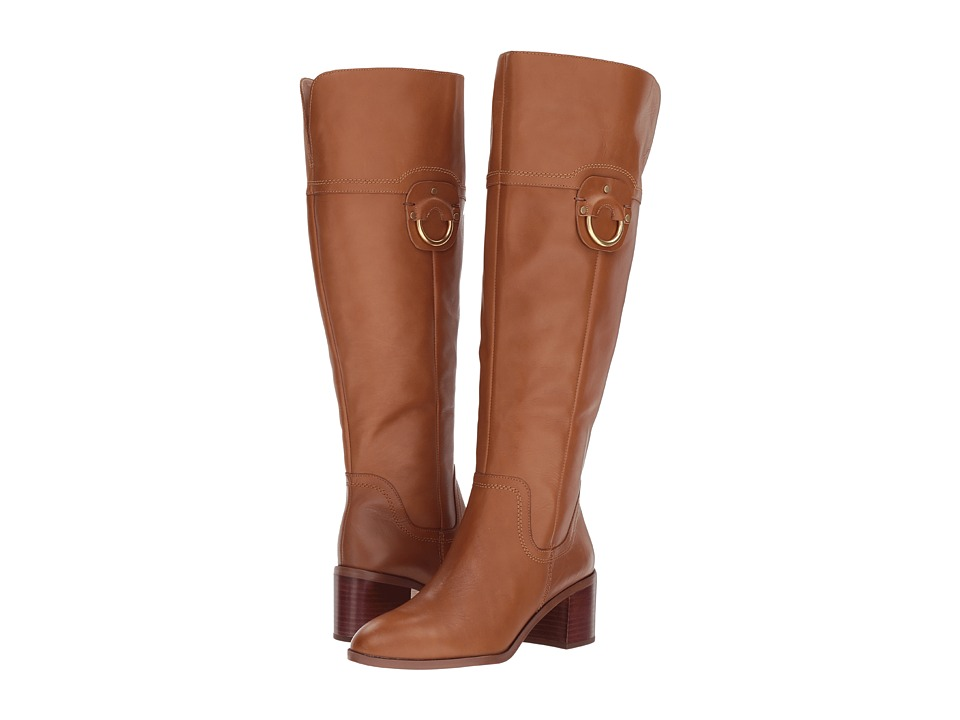 Franco Sarto Beckford Wide Calf (Whiskey Leather) Women