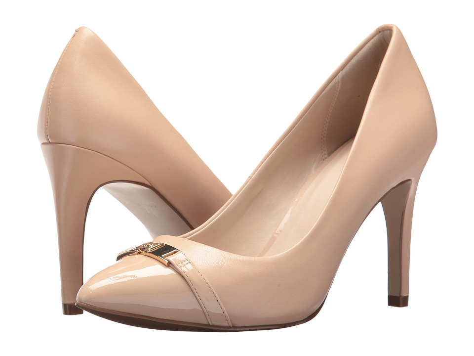 Cole Haan Diedra Pump 85mm II (Nude Leather/Patent) Women