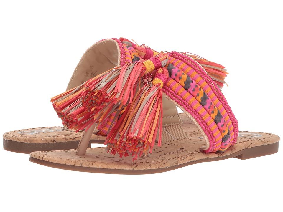 Circus by Sam Edelman Bella (Natural Naked/Pink Magenta Multi Smooth  Atanado Veg/