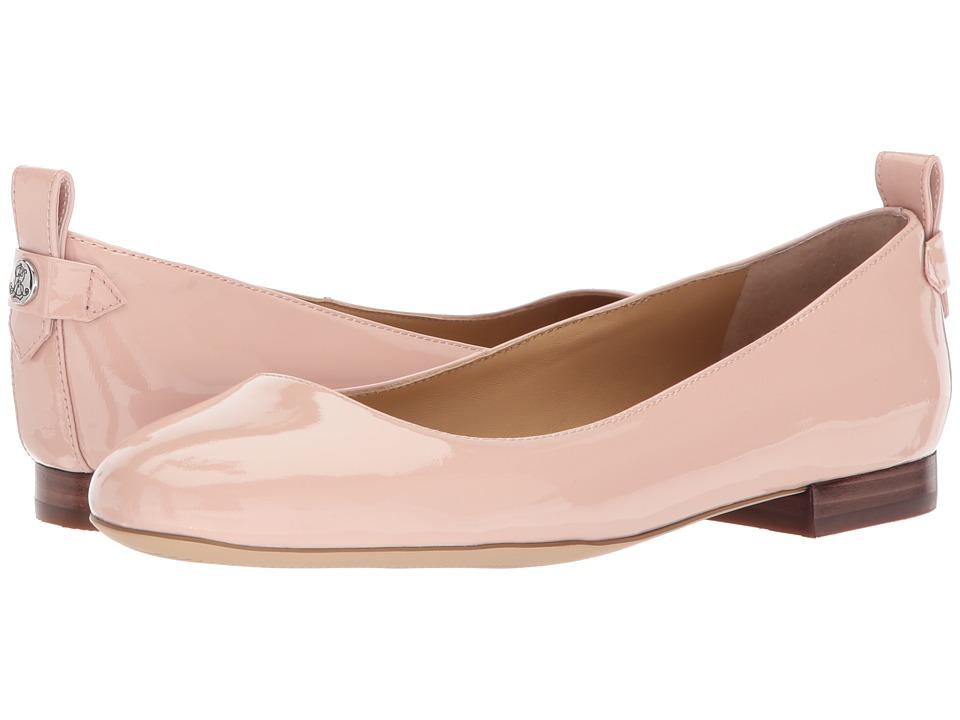 LAUREN Ralph Lauren Glenna (Dusty Pink Patent Suede) Women