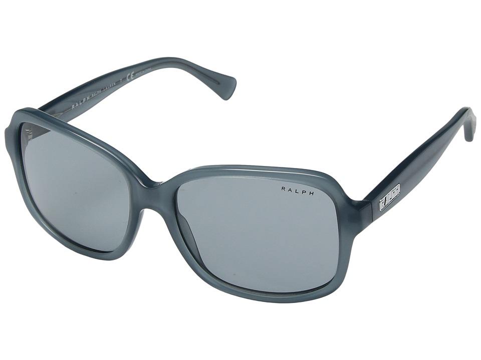 Ralph by Ralph Lauren - 0RA5216 (Milky Smoke Teal) Fashion Sunglasses