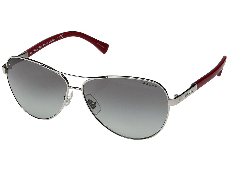 Ralph by Ralph Lauren - 0RA4116 (Silver/Red) Fashion Sunglasses