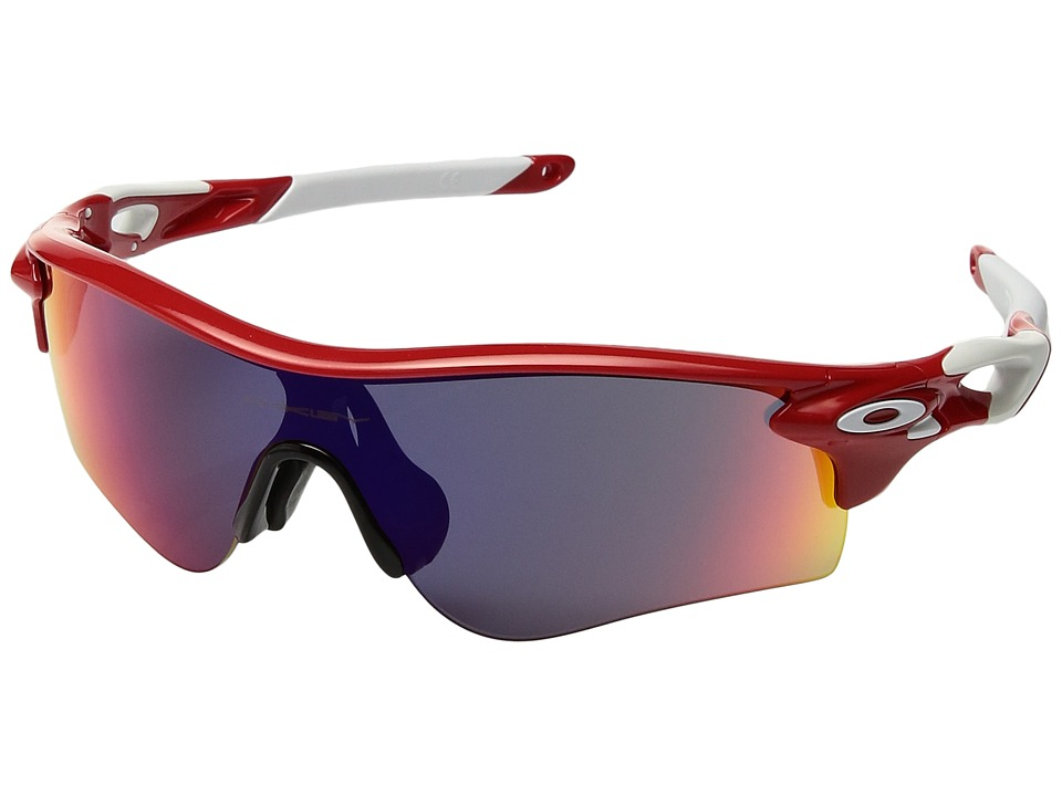 Oakley - (A) Radarlock Path (Infrared/Red Iridium) Sport Sunglasses