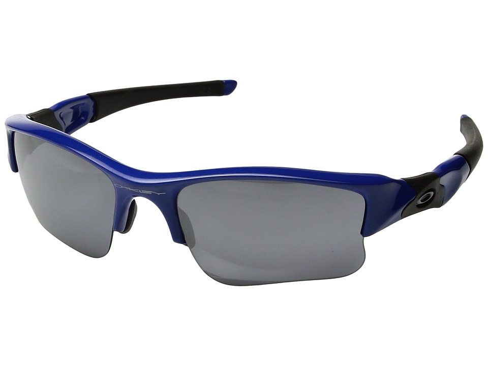 Oakley - MPH Flak Jacket XL (Blue/Black Iridium) Sport Sunglasses