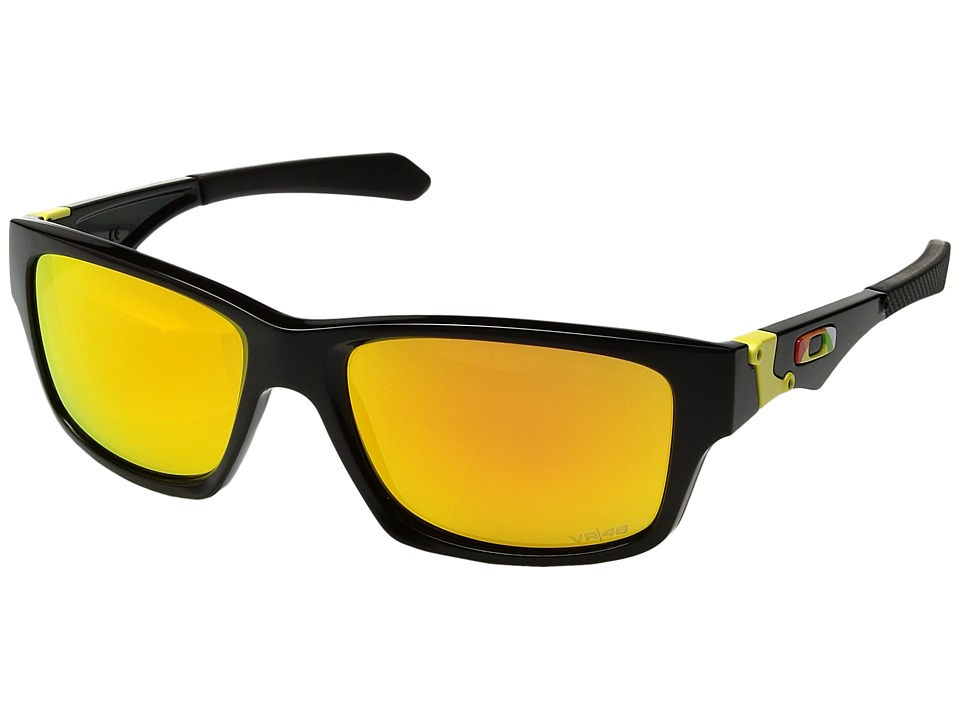 Oakley - Jupiter Squared (Black/Fire Iridium) Athletic Performance Sport Sunglasses