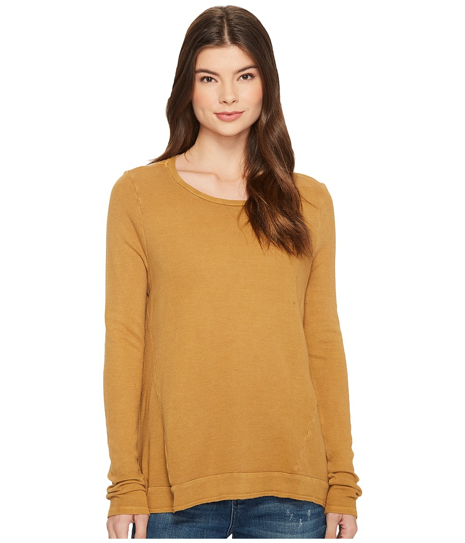 LAmade - Austin Crew Neck (Goldie) Women's Long Sleeve Pullover
