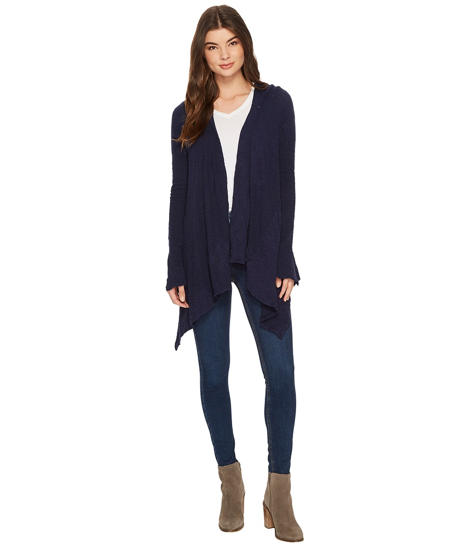 LAmade - Dani Hooded Cardigan (Midnight) Women's Sweater