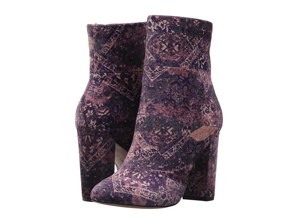 BCBGeneration Coral Dreamy Paisley Print (Dusty Violet Multi Velvet) Women