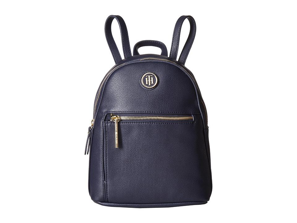 Tommy Hilfiger Geneva Mini Backpack (Tommy Navy) Backpack Bags