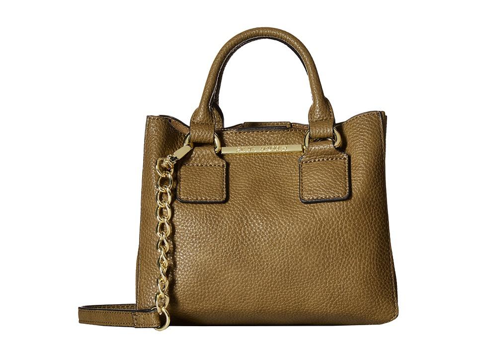Steve Madden - Bmicro Triple Entry Satchel (Olive) Satchel Handbags