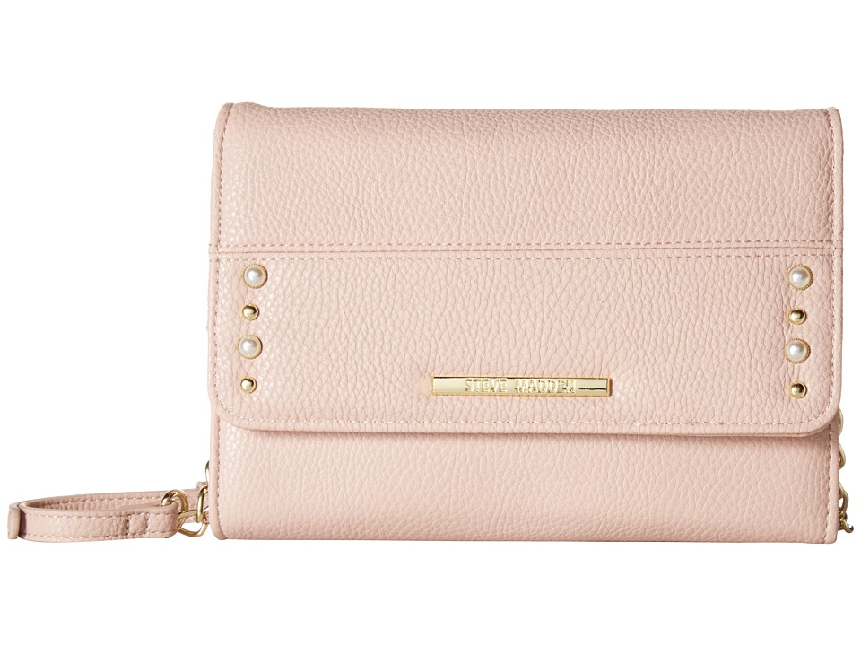 Steve Madden - Bmarcie Pearls - Wallet on A String (Blush) Wallet Handbags