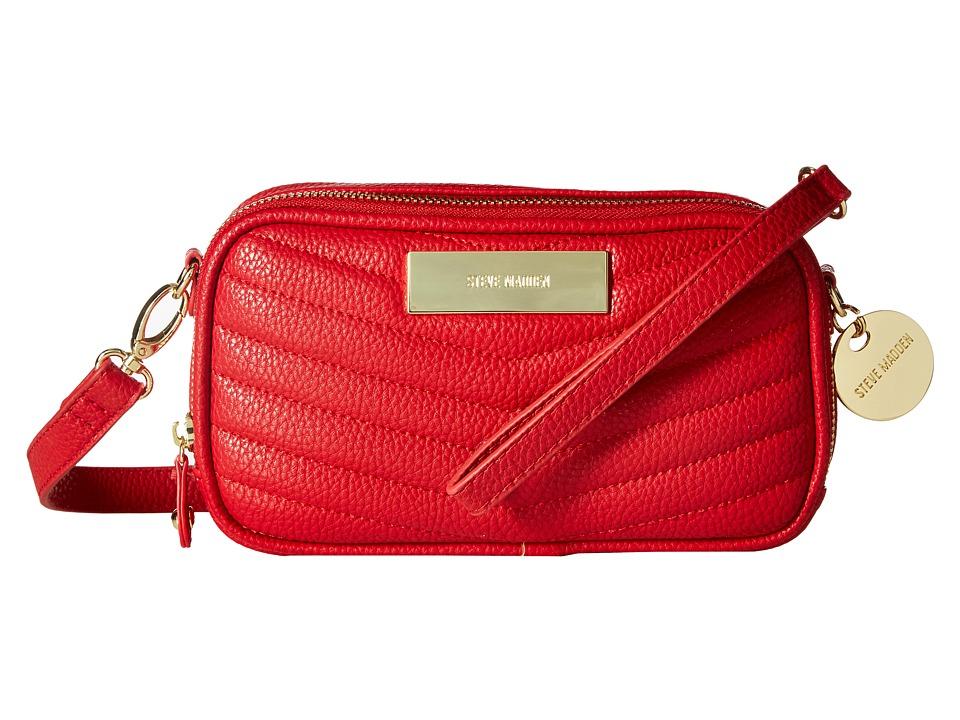 Steve Madden - Bmagnolia Crossbody (Red) Cross Body Handbags