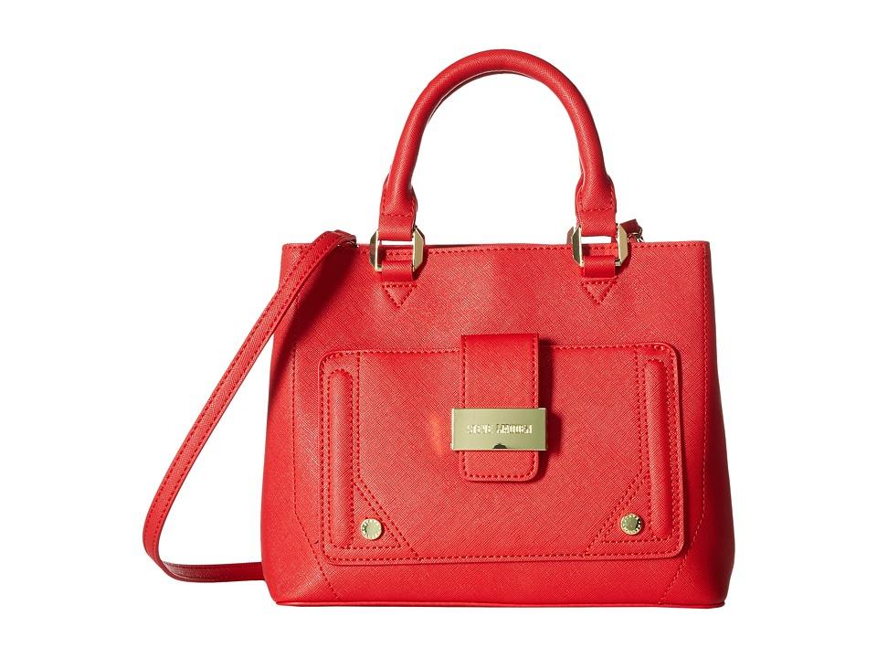 Steve Madden - Mini Btracy - Triple Entry Mini Tote (Red) Tote Handbags