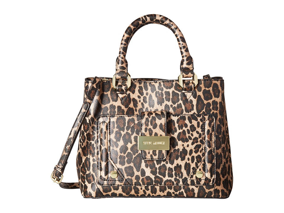 Steve Madden - Mini Btracy - Triple Entry Mini Tote (Leopard) Tote Handbags