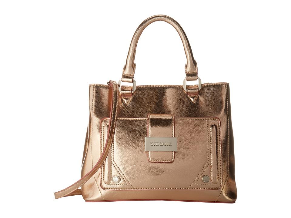 Steve Madden - Mini Btracy - Triple Entry Mini Tote (Rose Gold) Tote Handbags