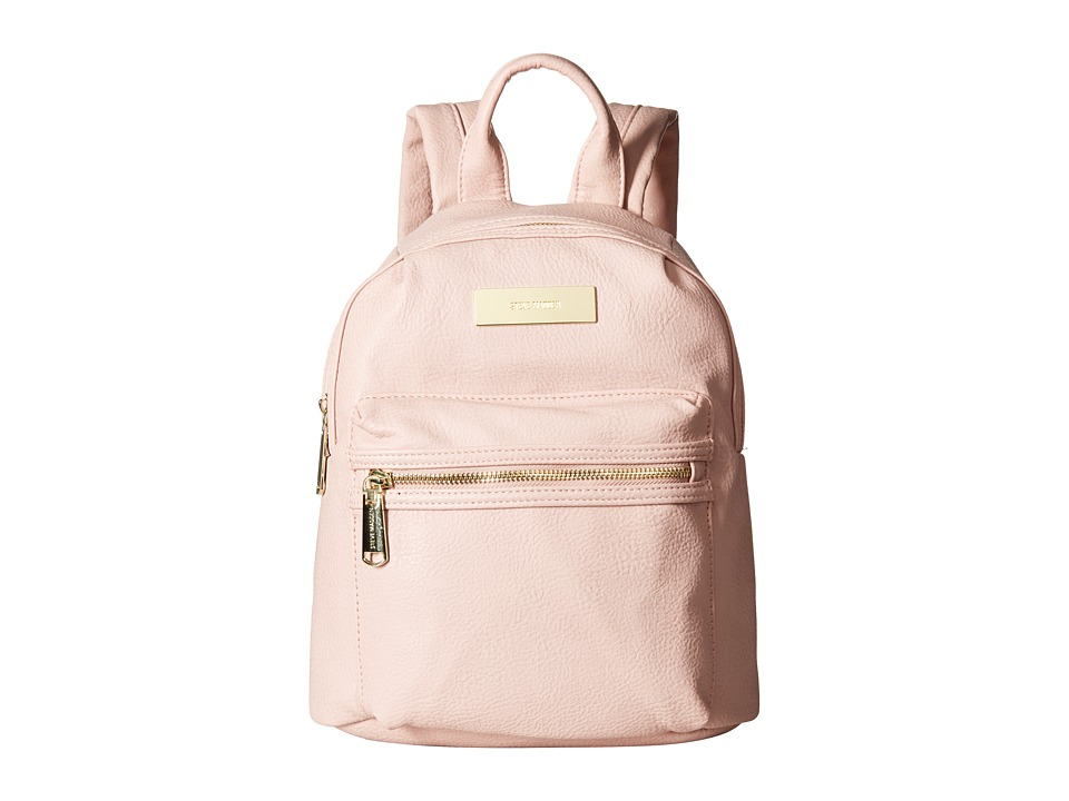 Steve Madden - Mini Bkris Pearls - Mini Backpack (Blush) Backpack Bags