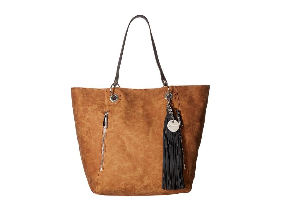 Steve Madden - Bwilde Metallic - Bag in Bag (Cognac/Black/Silver) Handbags