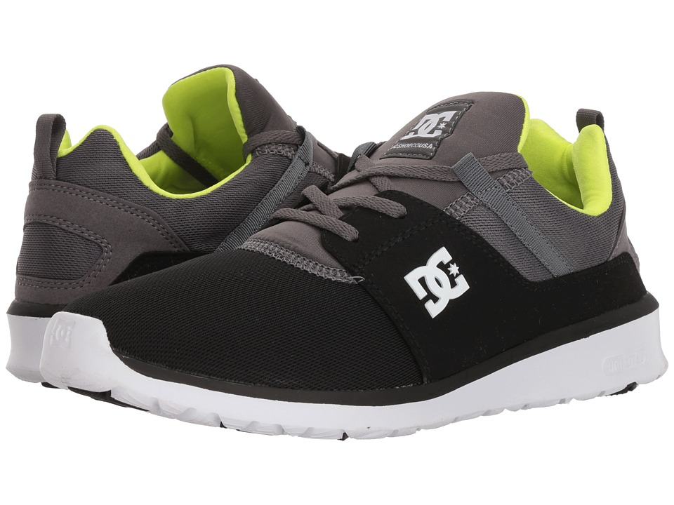 DC Heathrow (Black/Battleship/Lime) Skate Shoes
