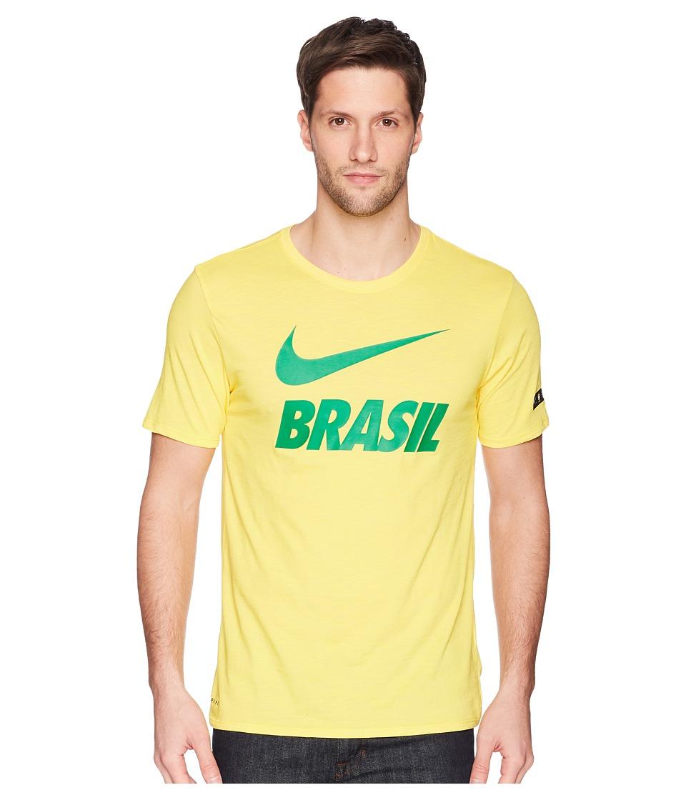 Nike CBF Dry Tee Slub Preseason (Midwest Gold) Men