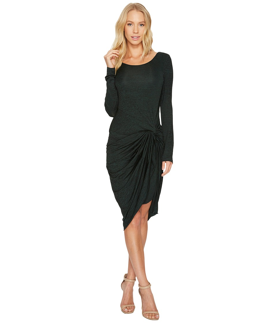 Adrianna Papell Jaspee Knit Scoop Neck Knit Dress