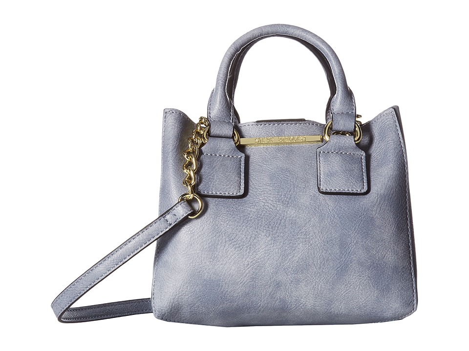 Steve Madden - Bmicro Triple Entry Satchel (Slate Blue) Satchel Handbags