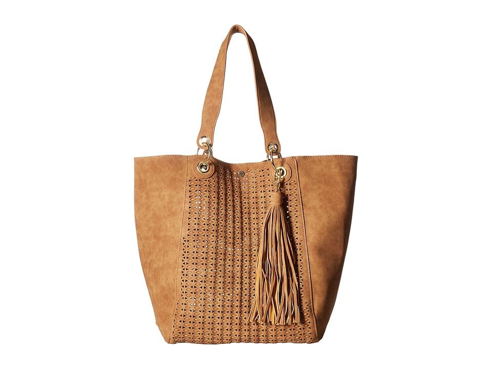 Steve Madden - Bwilde - Bag in Bag Tote (Cognac) Tote Handbags