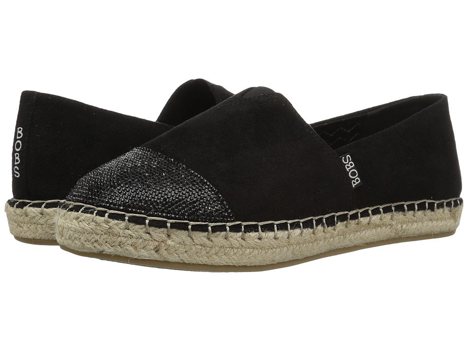 BOBS from SKECHERS Lowlights Razzy Dazzy (Black) Women