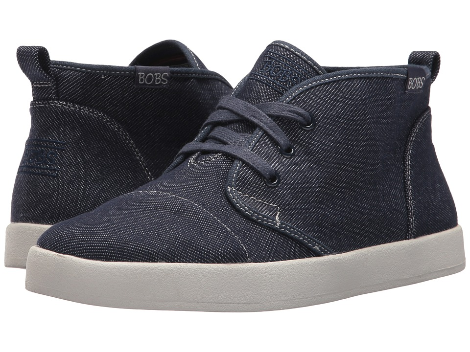 BOBS from SKECHERS Bobs B-Loved Fame Time (Dark Denim) Women