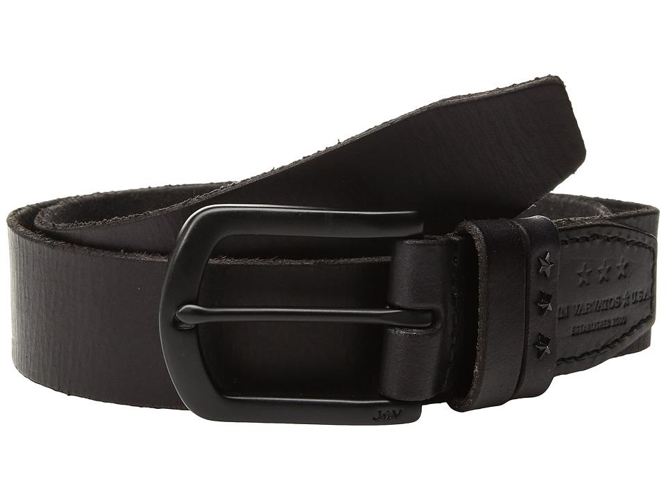 John Varvatos Star U.S.A. Hand Burnished Belt (Elephant) Men's Belts