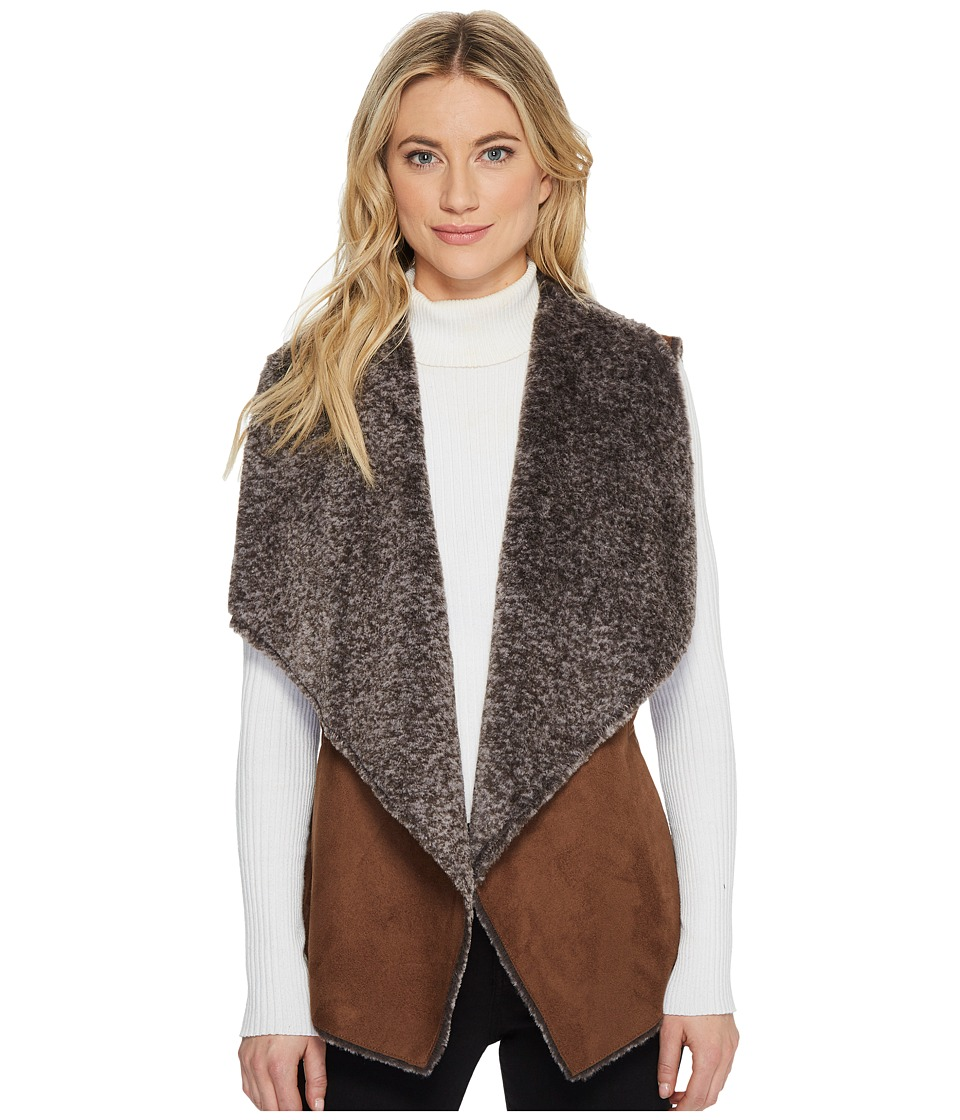 Tahari by ASL - Roberta Vest (Brown/Grey) Women's Vest