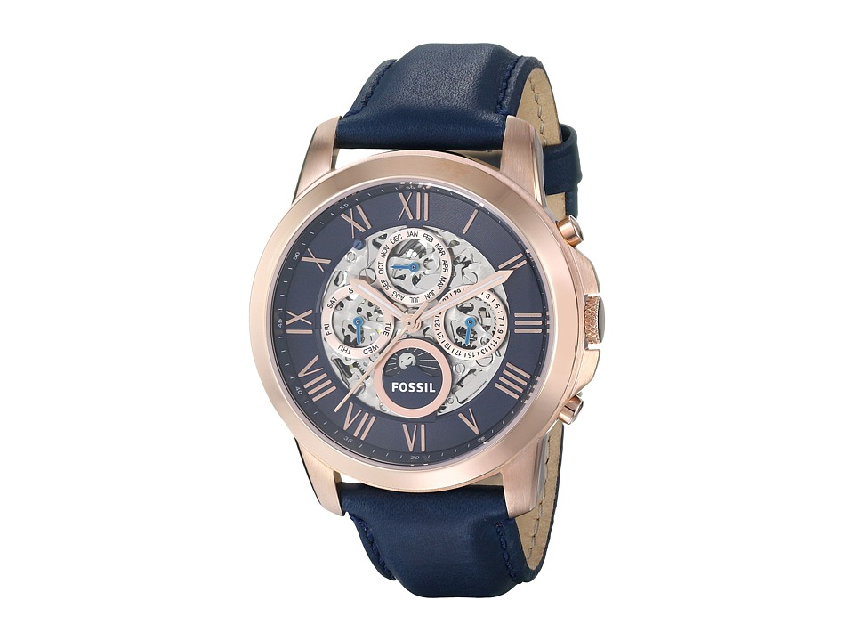 Fossil - Grant ME3029 (Bronze/Blue) Watches
