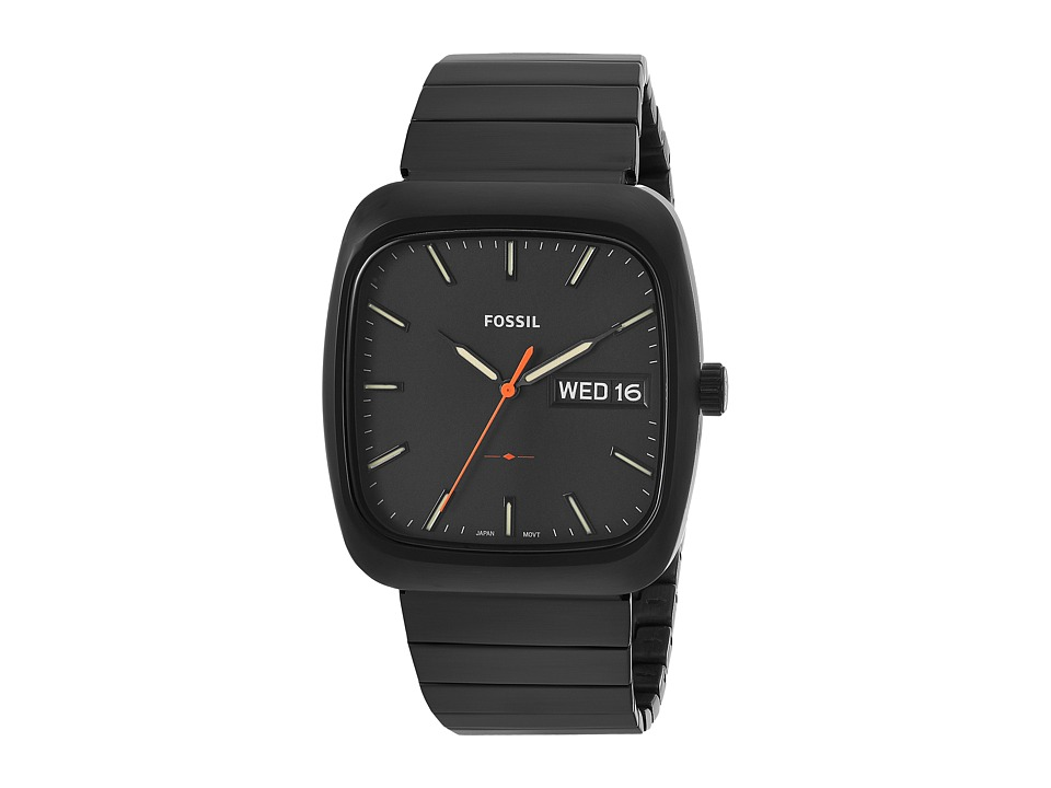 Fossil - Rutherford FS5333 (Black) Watches