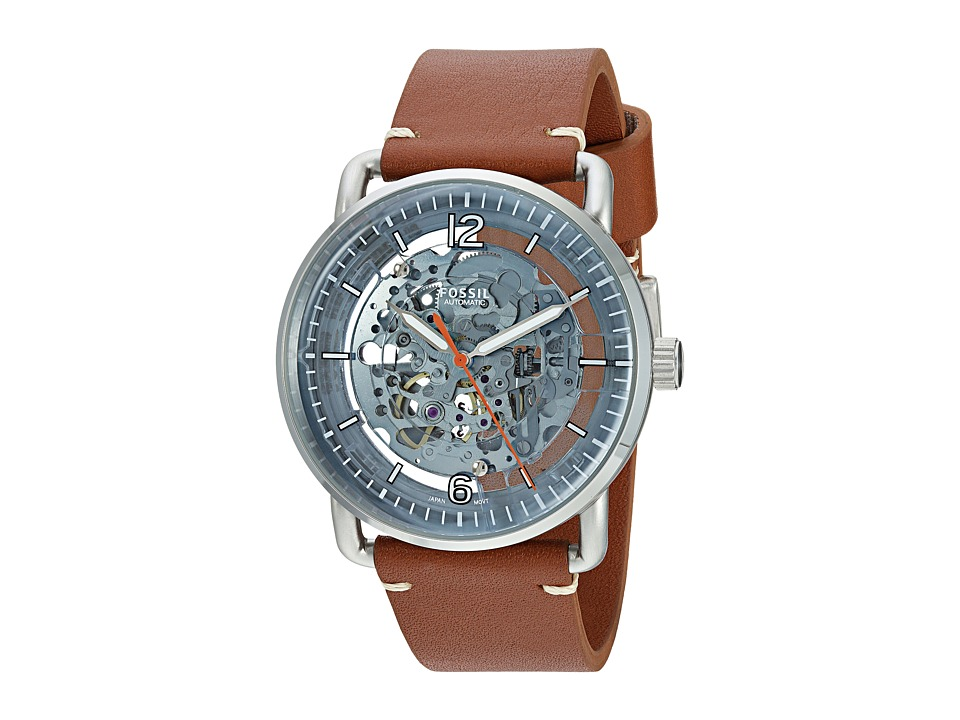 Fossil - The Commuter Automat ME3142 (Blue/Brown) Watches