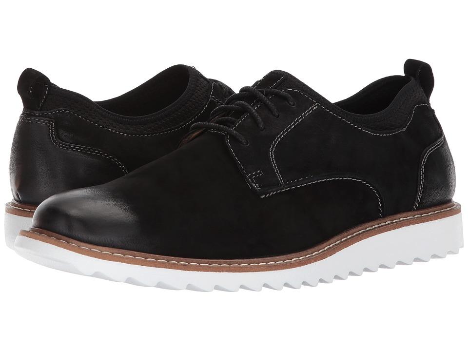 G.H. Bass & Co. Dirty Buck 2.0 Plain Toe Leather (Black Milled Nubuck) Men