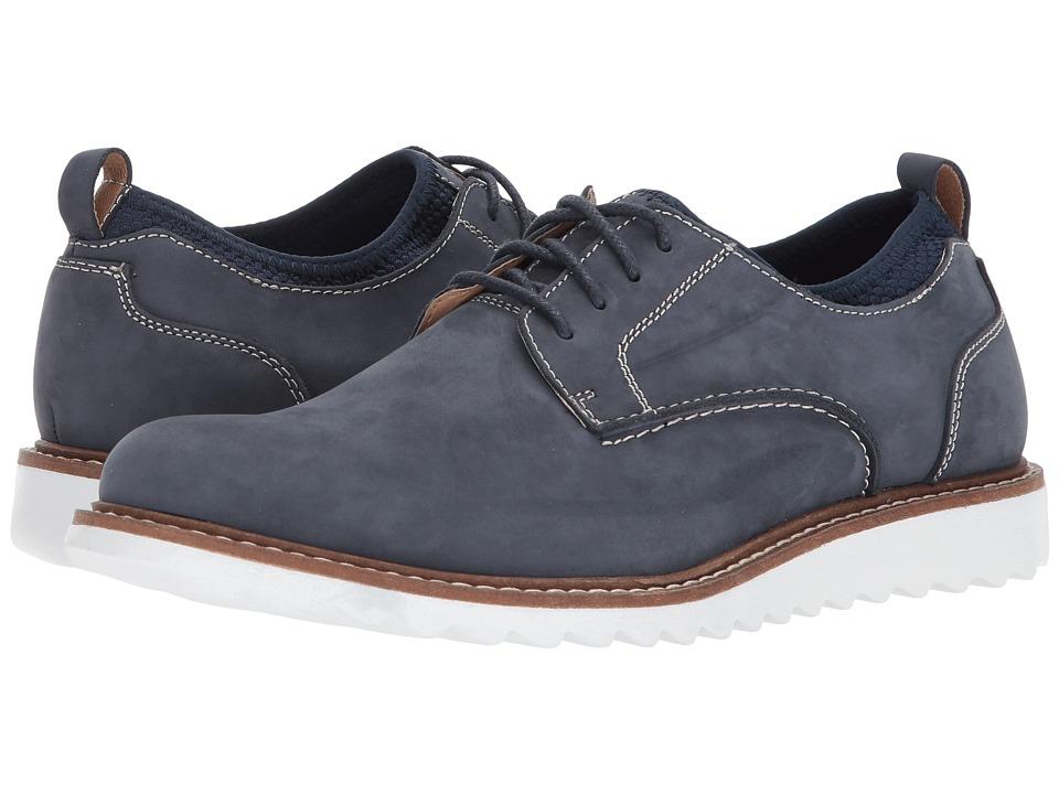 G.H. Bass & Co. Dirty Buck 2.0 Plain Toe Leather (Navy Nubuck) Men