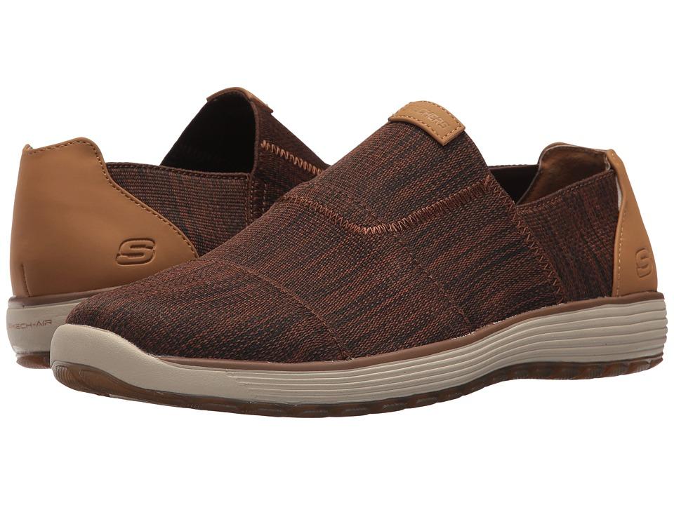 SKECHERS - Classic Fit (Brown) Men's Shoes