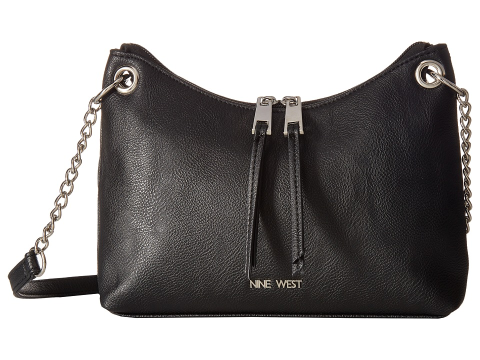 Nine West - Rings On Rings Crossbody (Black) Cross Body Handbags