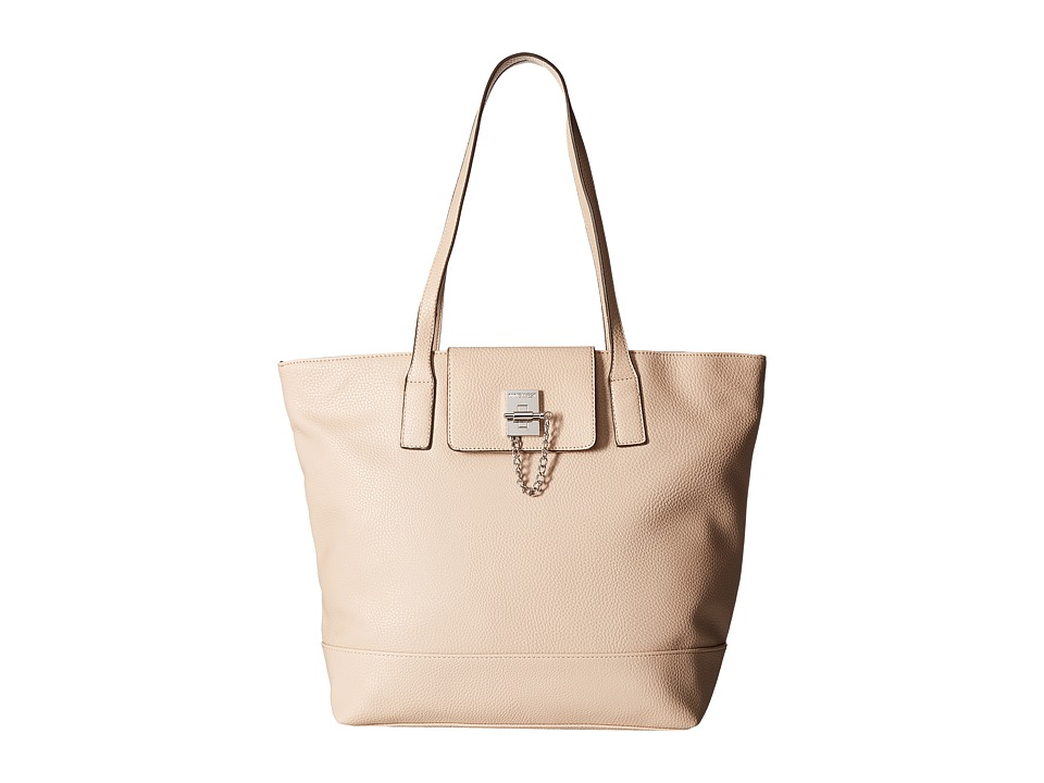 Nine West - Time To Lock Tote (Cashmere) Handbags