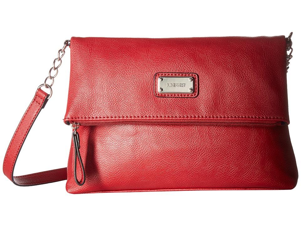 Nine West - Overbrook Crossbody (Ruby Red) Cross Body Handbags