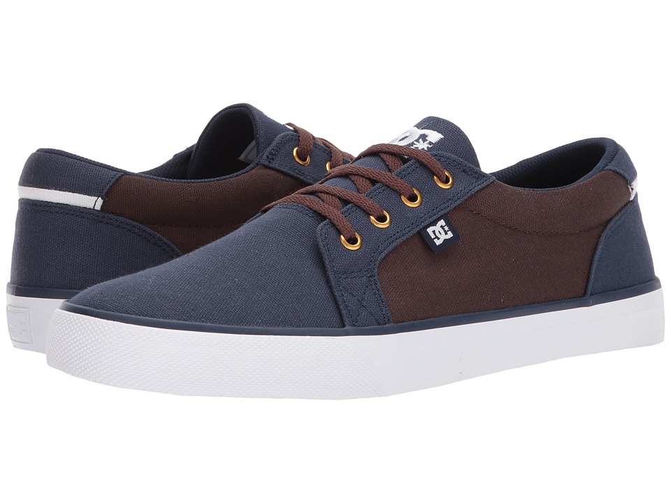 DC - Council TX (Navy/Dark Chocolate) Men's Skate Shoes