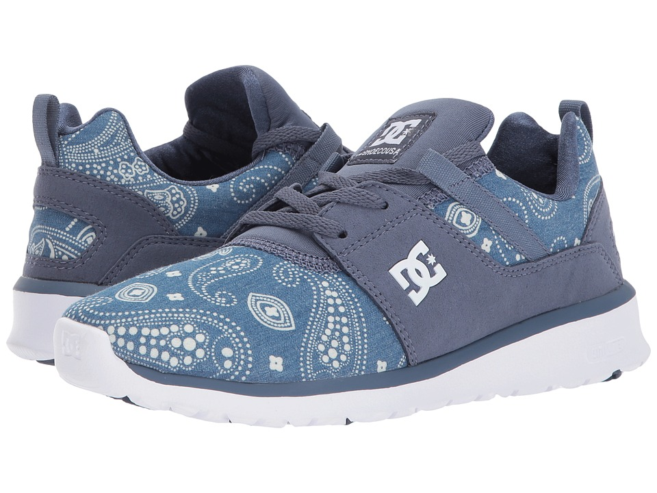 DC - Heathrow SE (Navy/White) Women's Skate Shoes