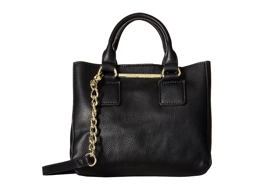 Steve Madden - Bmicro Triple Entry Satchel (Jet) Satchel Handbags