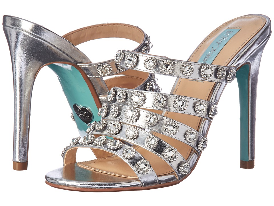 Betsey Johnson Jovi (Silver Metallic) High Heels