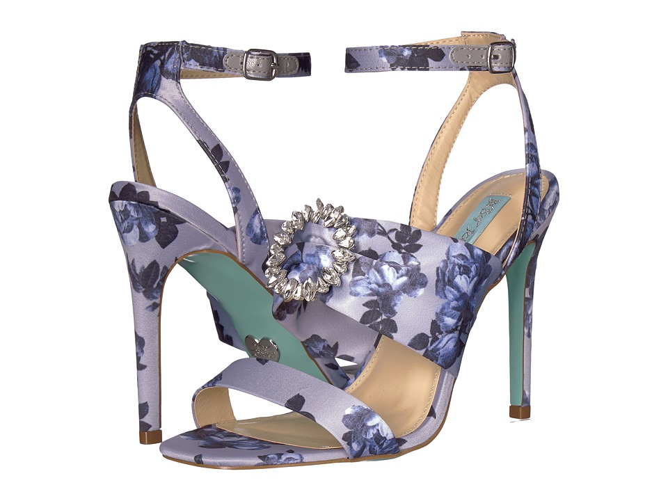Betsey Johnson Scoti (Blue Multi) High Heels