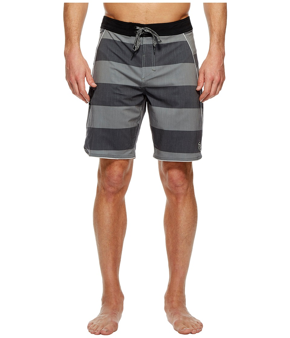 Roark Revival Stonebar Boardshorts (Black) Men