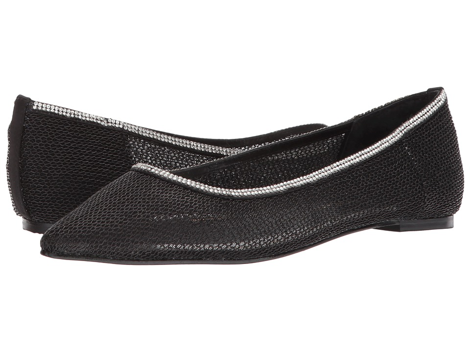 Caparros Merengue (Black/Clear Mesh) Women